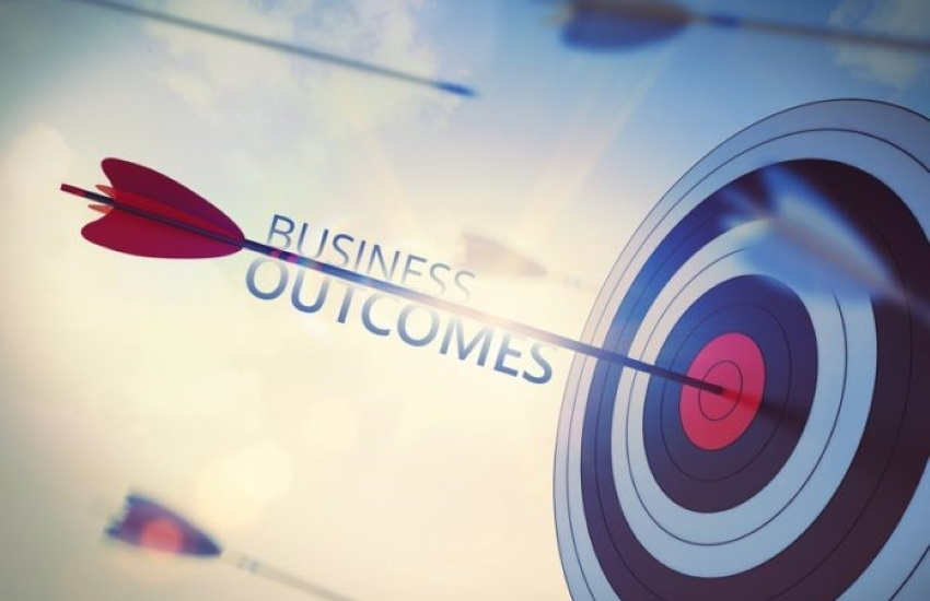 Target business outcomes.